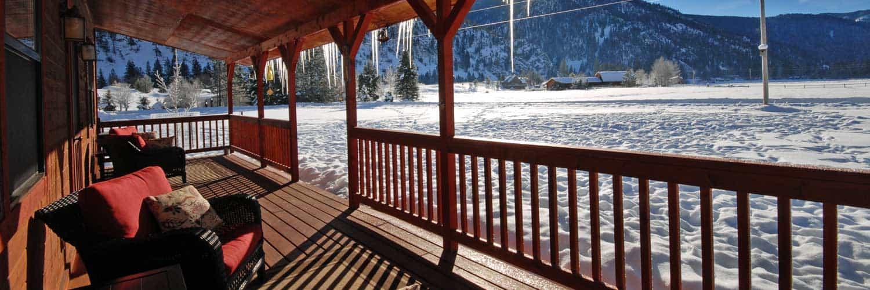Winter Vacation Rental near Missoula on Rock Creek
