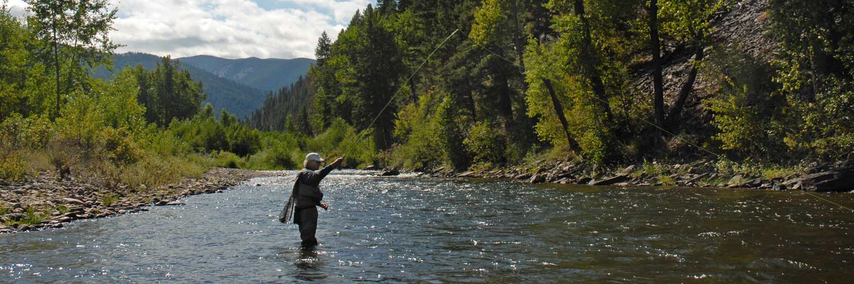 Montana rock creek cabin rock creek cabin rentals in montana for Fish rock rentals