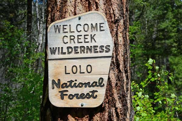 Welcome Creek, Lolo National Forest, Rock Creek, Montana